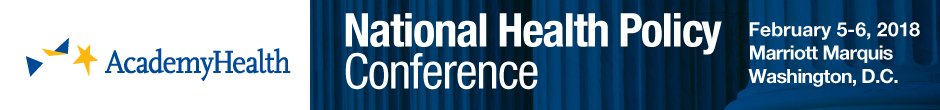 2018 AcademyHealth National Health Policy Conference