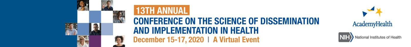 13<sup>th</sup> Annual Conference on the Science of Dissemination and Implementation