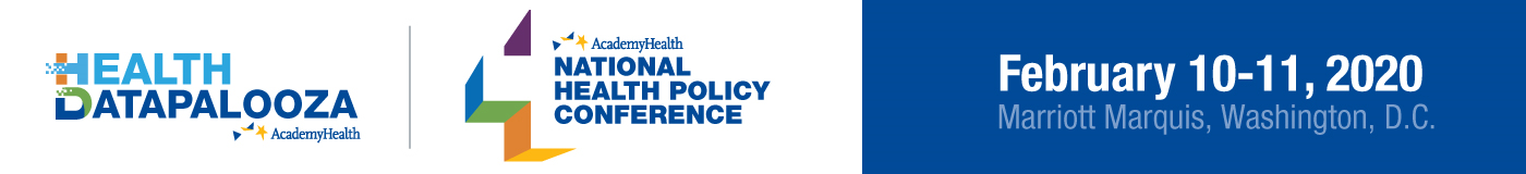 2020 AcademyHealth Health Datapalooza and National Health Policy Conference